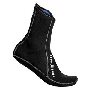 Aqua Lung 3mm Ergo Neoprene Socks – High Top