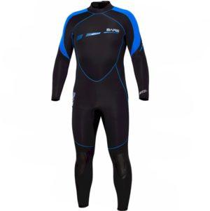 BARE 7mm Sport S-Flex Full Wetsuit – Mens