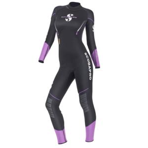 Scubapro Sport Steamer 2.5mm Black/Purple  – Women's
