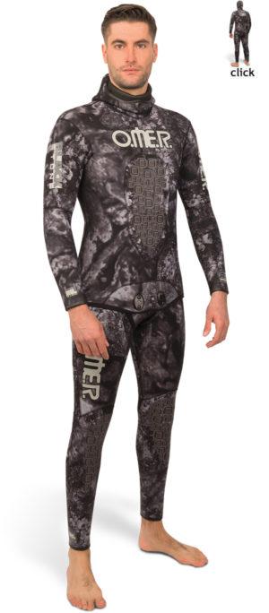 Omer Blackstone Wetsuit Jacket